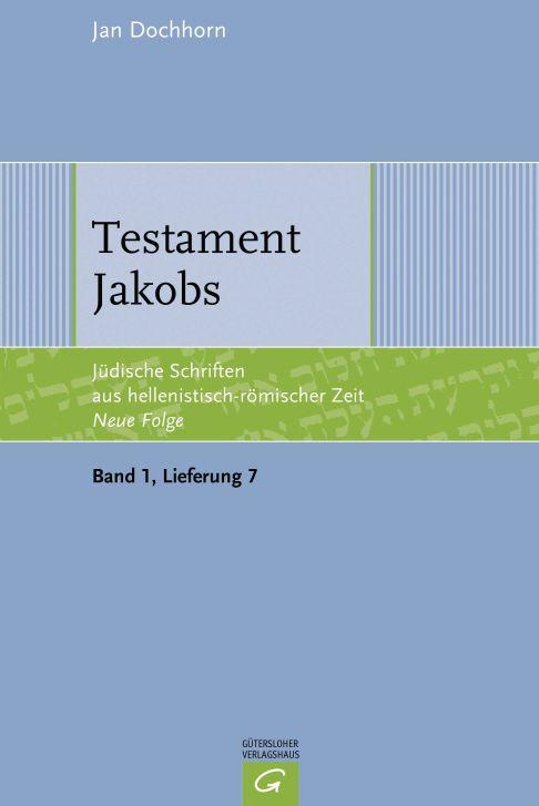Testament Jakobs von Jan Dochhorn