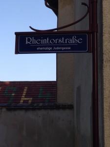 Rheintorstraße