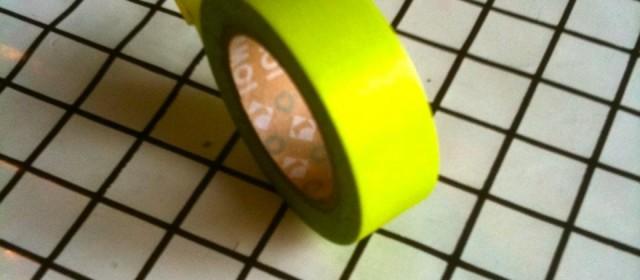 Tape – ein Gestaltungsmaterial