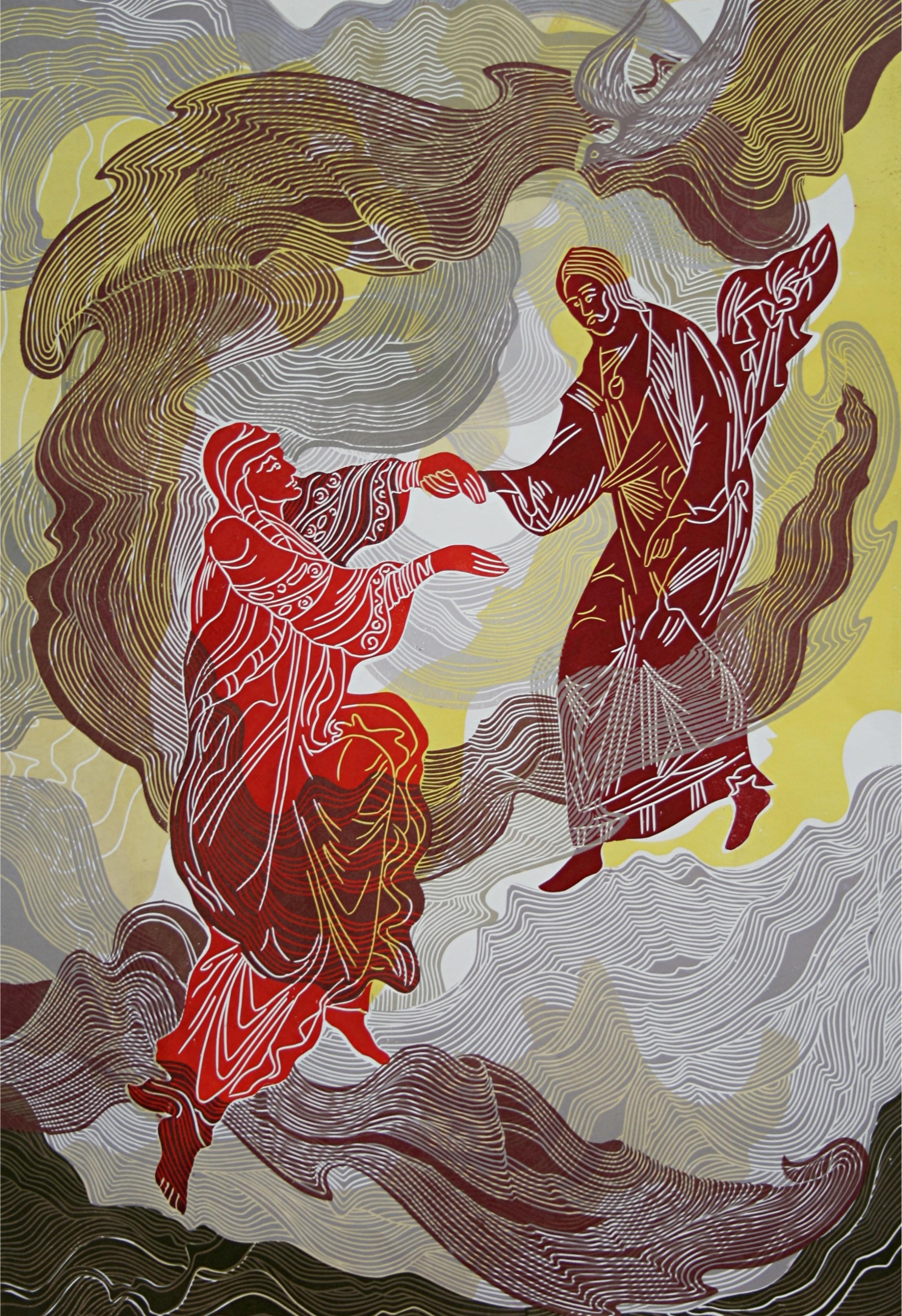 Mechthild tanzt mit Jesus