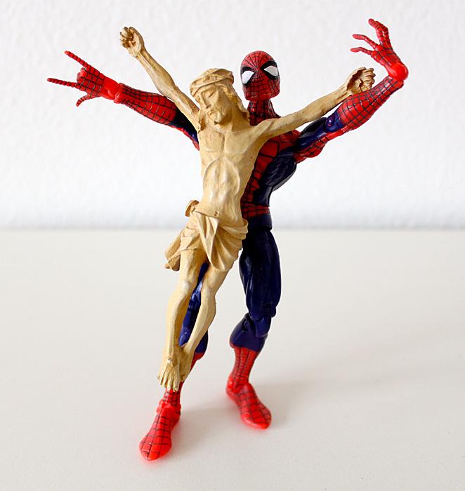 Jesus und Spider-Man