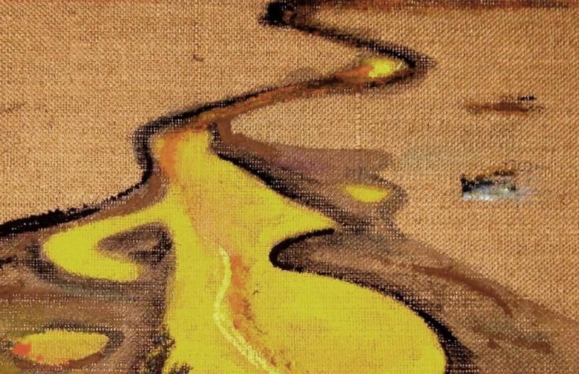 Sand-Spuren