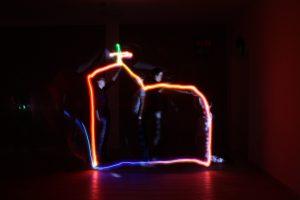 Lightpainting – Licht, das Spuren hinterlässt