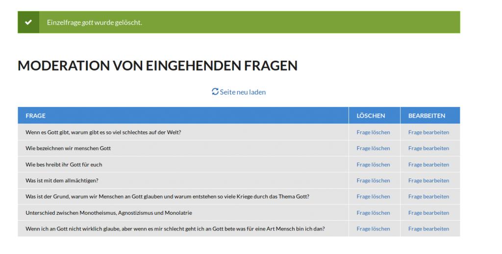 Moderationsseite fragmich.xyz