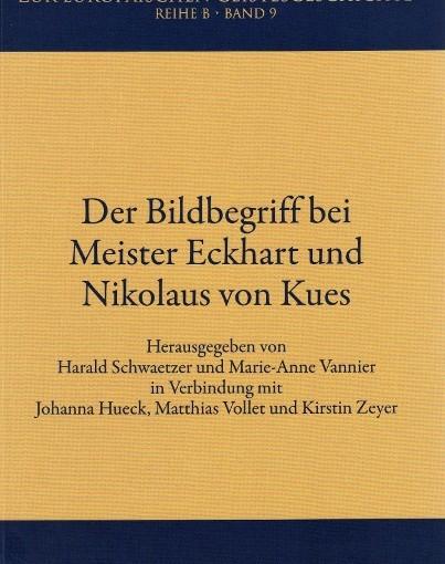 Buch des Monats September 2015: Meister Eckhart und Nikolaus von Kues – Bilder verstehen und transzendieren