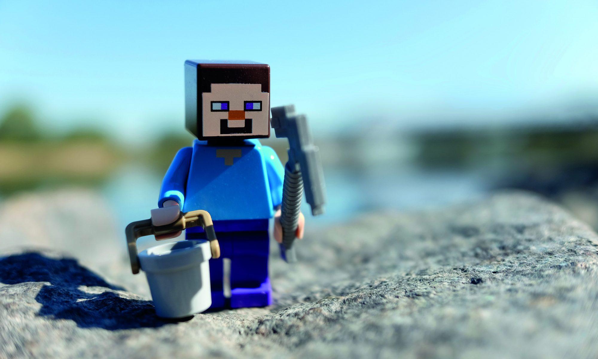 Minecraft-Männchen