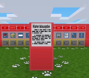 Station Materialausgabe