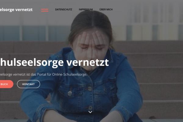Schulseelsorge vernetzt – das Portal für Online-Schulseelsorge